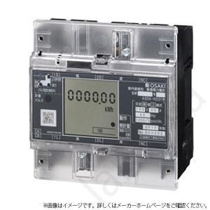 大崎電気工業 A5DA-RS31 200V 30A 50Hz 東日本 単相2線式 A5DA-RS31200V30A 電力量計 コンパクトEM|lampya