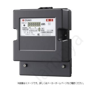 大崎電気工業 A6EA-R 100V 60A 50Hz 東日本 単相3線式 A6EA-R100V60A50Hz 電子式電力量計(検定付)|lampya