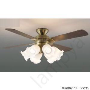 LEDシーリングファン 薄型インテリアファン灯具一体型タイプ[ リモコン付] AM41907L コイズミ照明 lampya