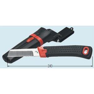 未来工業(ミライ) デンコーマック(電工ナイフ)右利き用ケース付 DM11【DM-11】|lampya