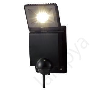 即納 オプテックス OPTEX LEDセンサーライト 1灯型 ブラック LA-11LED(BL)LA11LEDBL|lampya