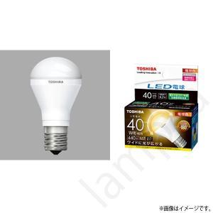 LED電球 E17 口金 LDA4L-G-E17/S/40W(LDA4LGE17S40W)電球色 ミニクリプトン形電球 東芝ライテック|lampya