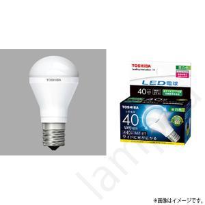 LED電球 E17 口金 LDA4N-G-E17/S/40W(LDA4NGE17S40W)昼白色 ミニクリプトン形電球 東芝ライテック|lampya