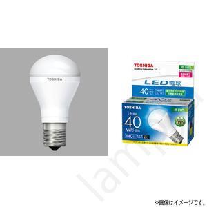 LED電球 E17 口金 LDA4N-H-E17/S/40W(LDA4NHE17S40W)昼白色 ミニクリプトン形電球 東芝ライテック|lampya