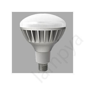 6個入り LED電球 E26 口金 LDR100200V19NH(LDR100/200V19N-H)電球色 E-CORE 反射形(チョークレス水銀ランプ形)19W 東芝|lampya