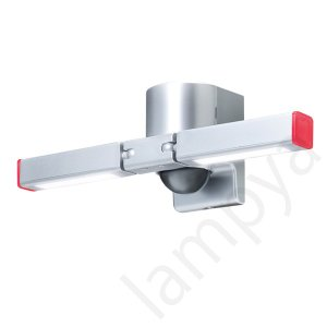 LEDセンサーライト LP-20(S)シルバー センサ調光型 ソーラー LED照明(LP20S)オプテックス OPTEX|lampya