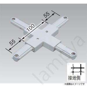 +形ジョインタ VI形(白色/ホワイト)NDR0237 東芝ライテック(ライティングレール・配線ダクトレール用)|lampya