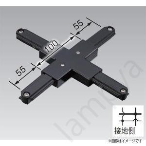 +形ジョインタ VI形(黒色/ブラック)NDR0237(K)(NDR0237K)東芝ライテック(ライティングレール・配線ダクトレール用)|lampya