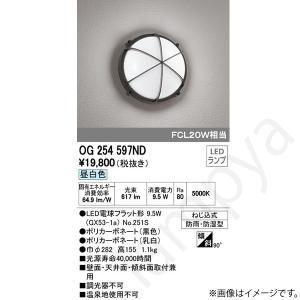 LEDポーチ灯(ブラケット) OG254597ND(OG 254 597ND) オーデリック|lampya