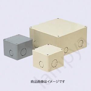 未来工業 プールボックス PVP-1007NJ/PVP-1007N 正方形(ノック付)100×100×75|lampya