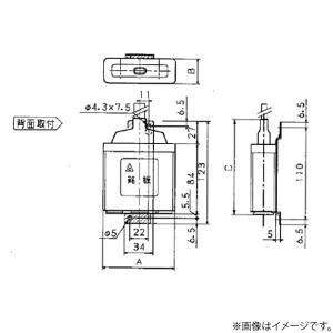低圧進相コンデンサ ZA100L(ZA-100L)パナソニック|lampya
