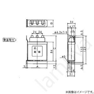 低圧進相コンデンサ ZA10T(ZA-10T)パナソニック|lampya|02