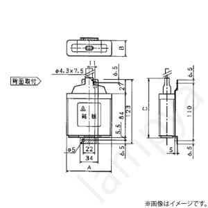 低圧進相コンデンサ ZA40L(ZA-40L)パナソニック|lampya