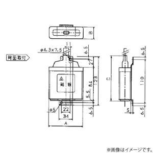 低圧進相コンデンサ ZA75L(ZA-75L)パナソニック|lampya