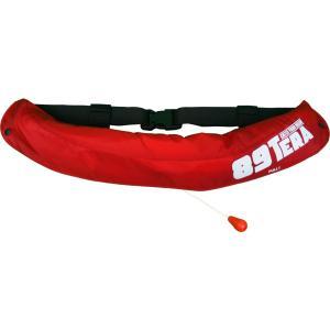自動膨脹式小型船舶用救命胴衣 国土交通省型式承認品 Type A(ベルトタイプ)|lamses