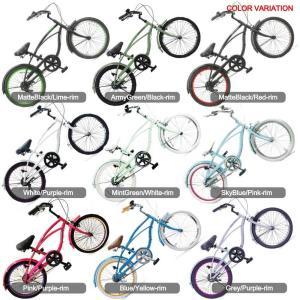 Feelling of decks FOD-20 子供用自転車 20インチ ビーチクルーザー おしゃれ 自転車 ジュニア 小学生 レインボー|lanai-makai