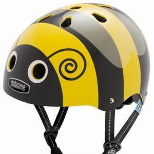 自転車 ジュニア ヘルメット NUTCASE LITTLE NUTTY Design:BUMBLE BEE|lanai-makai