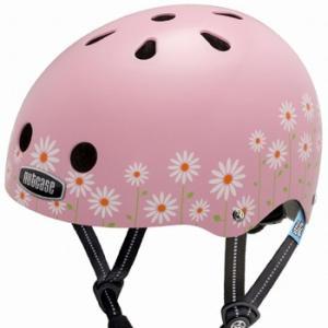 自転車 ジュニア ヘルメット NUTCASE LITTLE NUTTY Design:DAISY PINK|lanai-makai