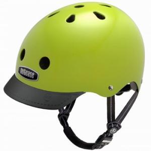 自転車 ジュニア ヘルメット NUTCASE LITTLE NUTTY Design:ELECTRIC OLIVE|lanai-makai