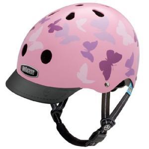 自転車 ジュニア ヘルメット NUTCASE LITTLE NUTTY Design:FLUTTER BY|lanai-makai