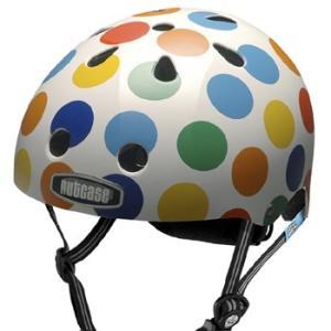 自転車 ジュニア ヘルメット NUTCASE LITTLE NUTTY Design:DOTS|lanai-makai