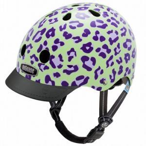 自転車 ジュニア ヘルメット NUTCASE LITTLE NUTTY Design:GRAPE LEOPARD|lanai-makai
