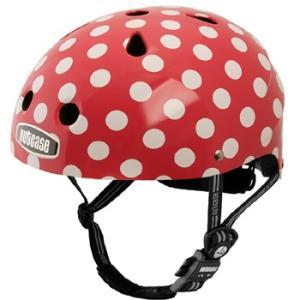 自転車 ジュニア ヘルメット NUTCASE LITTLE NUTTY Design:SIMIMINI DOTS|lanai-makai