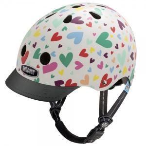 自転車 ジュニア ヘルメット NUTCASE LITTLE NUTTY Design:Happy Hearts|lanai-makai