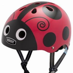 自転車 ジュニア ヘルメット NUTCASE LITTLE NUTTY Design:LADY BUG|lanai-makai