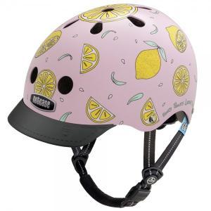 自転車 ジュニア ヘルメット NUTCASE LITTLE NUTTY Design:Pink Lemonade|lanai-makai