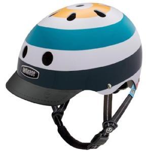 自転車 ジュニア ヘルメット NUTCASE LITTLE NUTTY Design:RADIO WAVE|lanai-makai