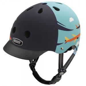 自転車 ジュニア ヘルメット NUTCASE LITTLE NUTTY Design:Sky Flyer|lanai-makai