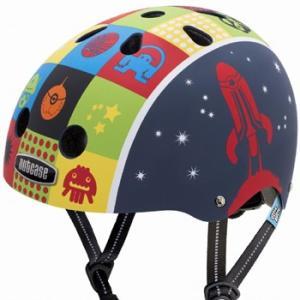 自転車 ジュニア ヘルメット NUTCASE LITTLE NUTTY Design:SPASE CADET|lanai-makai