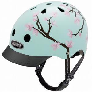 自転車 ヘルメット NUTCASE GEN-3 デザイン:Cherry Blossom |lanai-makai