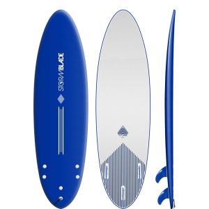 サーフボード ソフトボード STORM BLADE 6ft4 ROUND TAIL SURF|lanai-makai