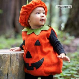 ベビー服 赤ちゃん パンプキン かぼちゃ 着ぐるみ デビル コスプレ ハロウィン コスチューム キッ...