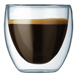 Bodum(ボダム)のキッチンアイテム Bodum Pavina Double Wall Espresso/Shot Glass - Set of 2 正規輸入品