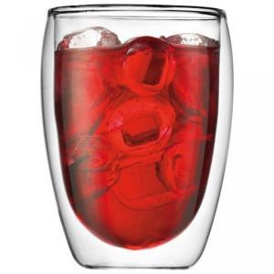 Bodum(ボダム)のキッチンアイテム Bodum Pavina Double Wall Cooler/Beer Glass, Set of 2 正規輸入品