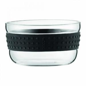 "Bodum(ボダム)のキッチンアイテム Bodum Pavina 2 Piece Salad Bowl, 4.9"", Black 正規輸入品"