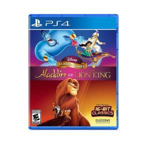 PS4 ディズニー クラシック ゲームス アラジン アンド ライオンキング Disney Class...