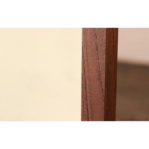 アジアン家具 スタンドミラー 全身 姿見 おしゃれ 鏡 ウォールミラー 壁掛け チーク 無垢 木製 アクビィ ナチュラル ACM160KA|landmark|04