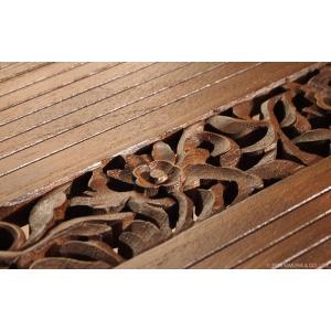 アジアン家具 センターテーブル おしゃれ リビング ローテーブル 机 チーク無垢 木製 アクビィ ACT018KA|landmark|04