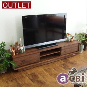 アジアン家具 テレビボード ローボード テレビ台 チーク無垢 木製 収納 アクビィ ACW540KA|landmark