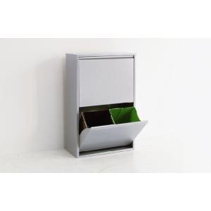ゴミ箱 ダストボックス 分別 おしゃれ キッチン 4 リサイクルビン 北欧 モダン xx011240|landmark|02