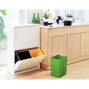 ゴミ箱 ダストボックス 分別 おしゃれ キッチン 4 リサイクルビン 北欧 モダン xx011240|landmark|04