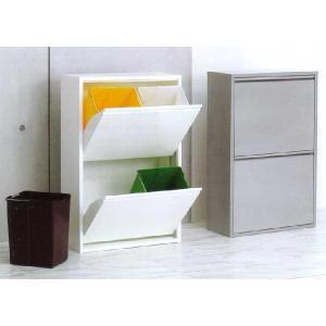 ゴミ箱 ダストボックス 分別 おしゃれ キッチン 4 リサイクルビン 北欧 モダン xx011240|landmark|06
