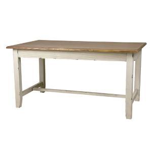 セレクト家具 北欧 ダイニングテーブル 机 ホワイト アンティーク フレンチ blossom AZCOL017 landmark