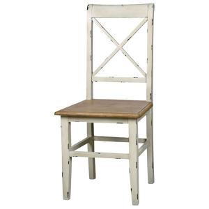 セレクト家具 北欧 ダイニングチェア 椅子 ホワイト 白 アンティーク フレンチ blossom AZCOL019 landmark