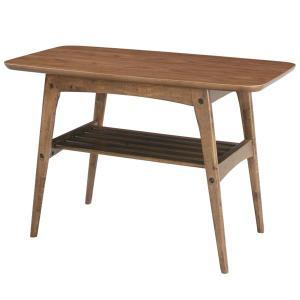 コーヒーテーブル 天然木 北欧 ミッドセンチュリー カフェAZTAC227WAL landmark