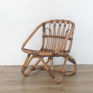 キッズチェア ラタンチェア 子供椅子 いす 籐 ラタン 家具 アジアン おしゃれ アンティーク調 木製 C155SME|landmark|02